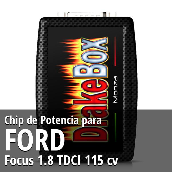 Chip de Potencia Ford Focus 1.8 TDCI 115 cv