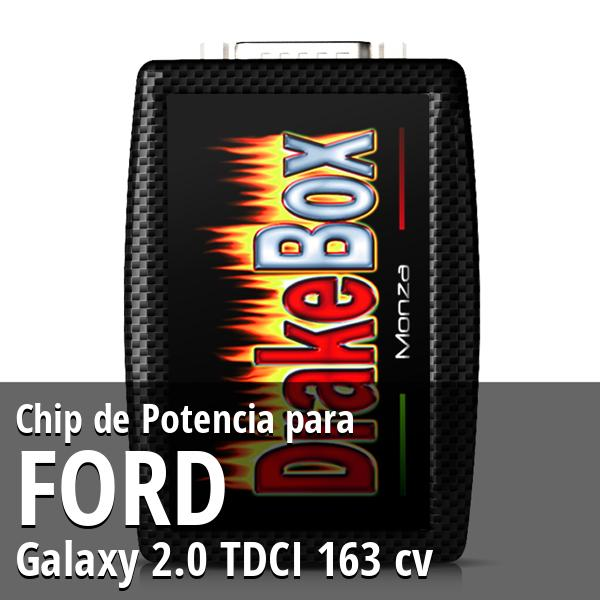 Chip de Potencia Ford Galaxy 2.0 TDCI 163 cv