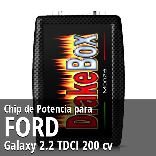 Chip de Potencia Ford Galaxy 2.2 TDCI 200 cv