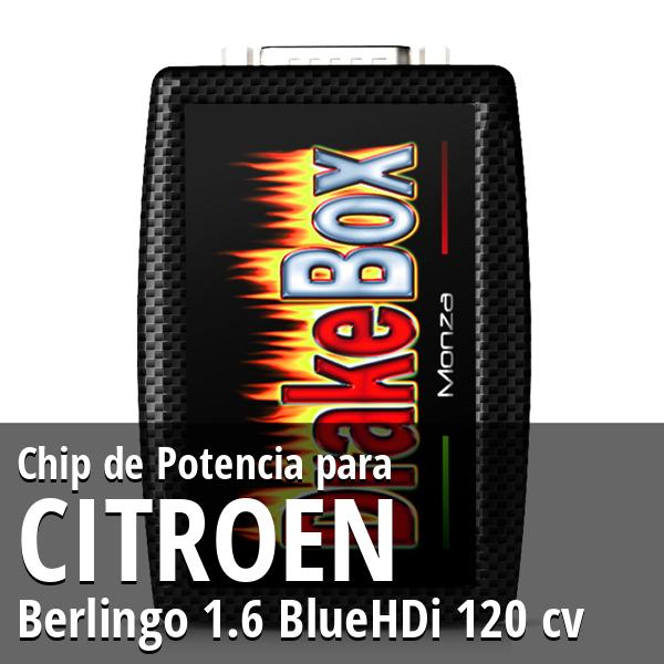 Chip de Potencia Citroen Berlingo 1.6 BlueHDi 120 cv