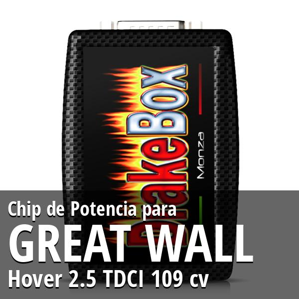 Chip de Potencia Great Wall Hover 2.5 TDCI 109 cv