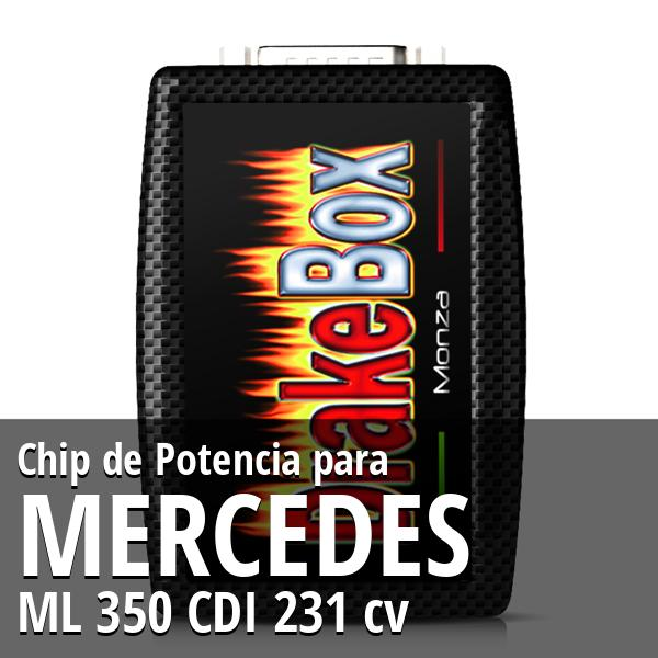 Chip de Potencia Mercedes ML 350 CDI 231 cv