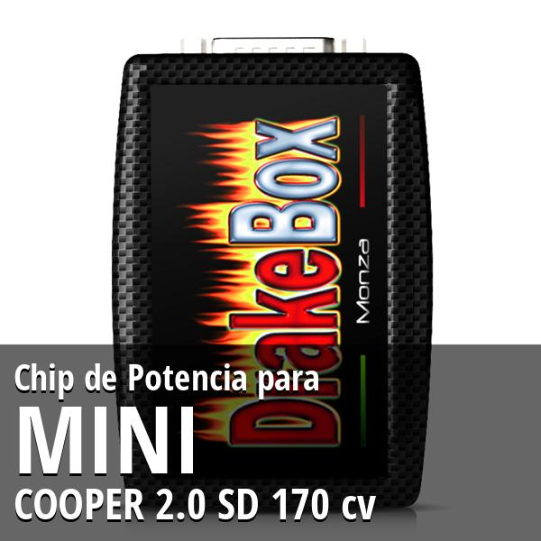 Chip de Potencia Mini COOPER 2.0 SD 170 cv