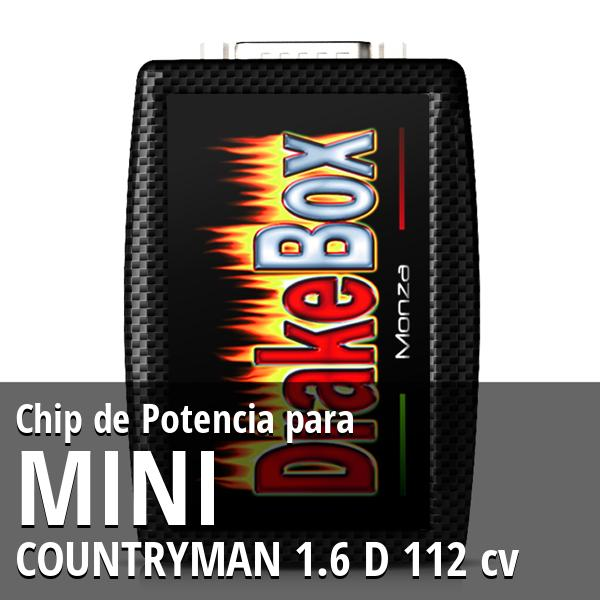 Chip de Potencia Mini COUNTRYMAN 1.6 D 112 cv